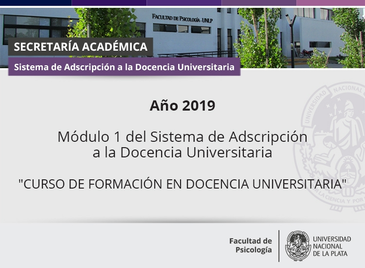 adscripcion modulo  1 2019